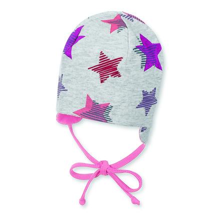 Sterntaler Girl maillot reversible de beanie estrella violeta brillante
