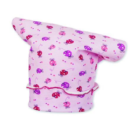 Sterntaler Girls Kopftuch Marienkäfer Jersey rosa
