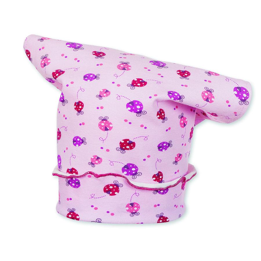 Sterntaler Girls Chusta na głowę Ladybird Jersey różowy