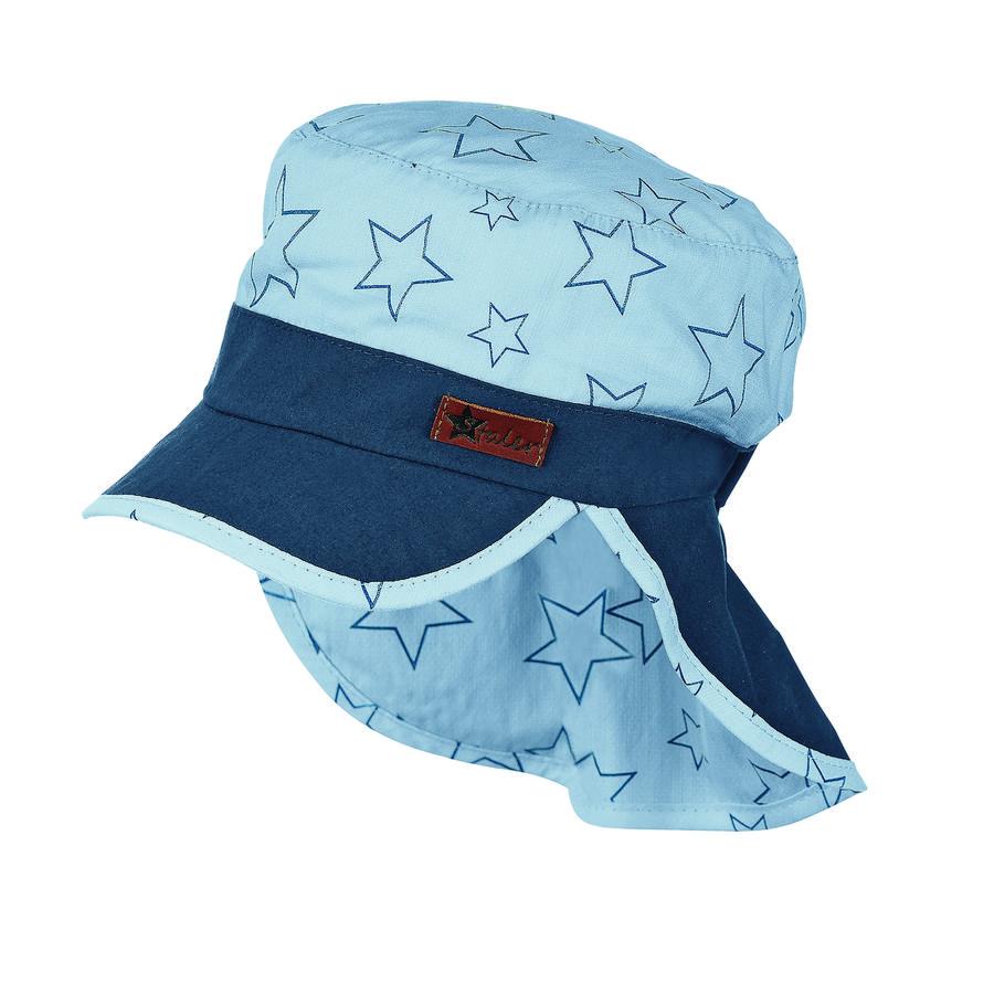 Sterntaler Gorra de niño gorra protección cuello estrellas cielo