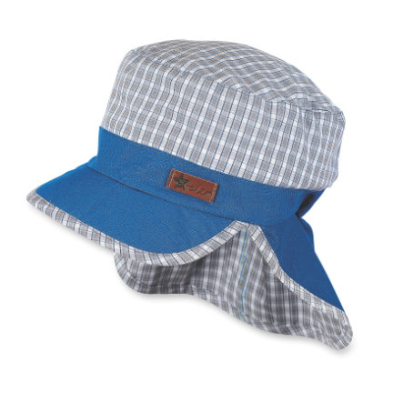 Sterntaler Boys szczytowa osłona na szyję osłona na czapkę, wędzony szary