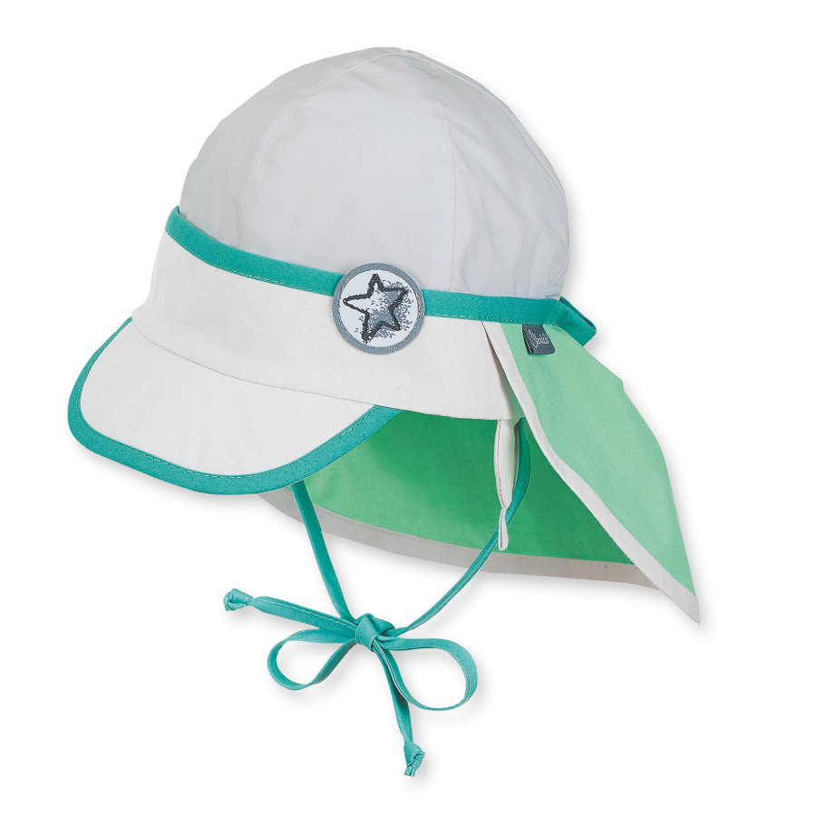 Sterntaler Boys Schirmmütze Nackenschutz frühlingsgrün