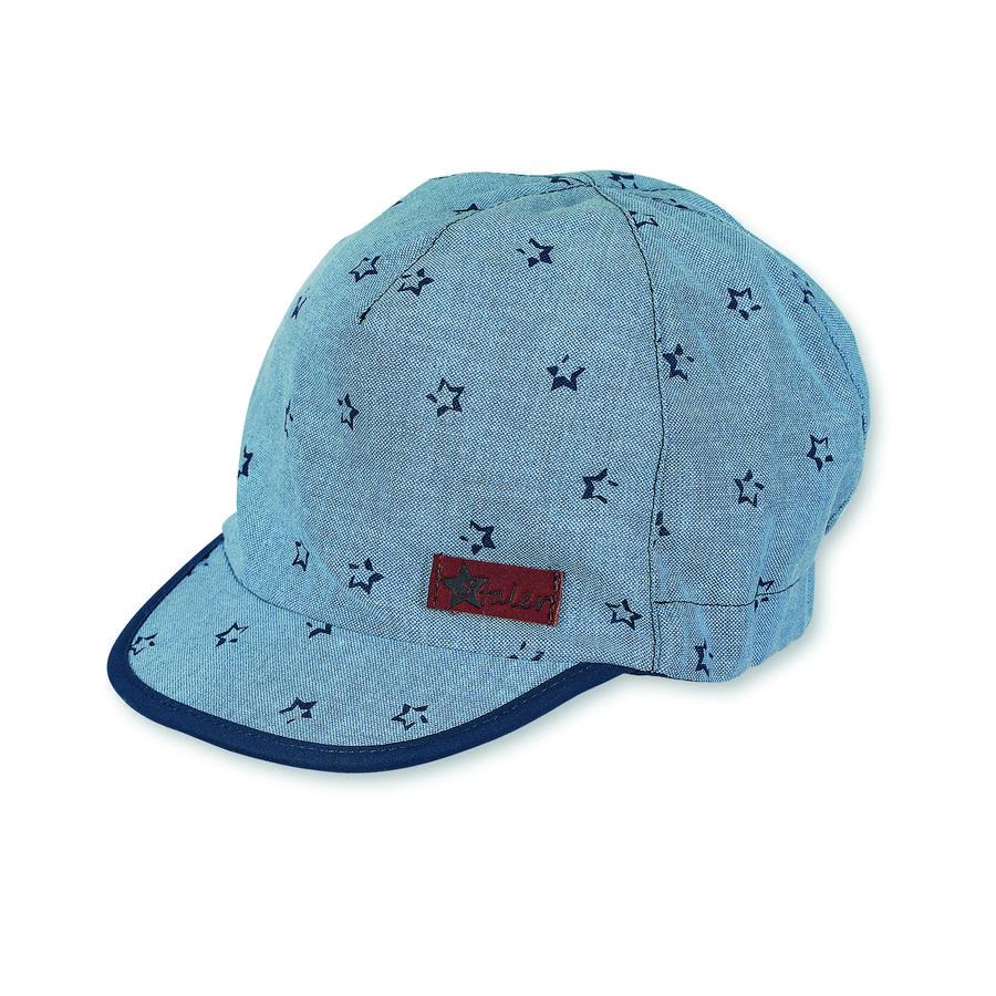 Sterntaler Boys Schirmmütze Sterne jeansblau