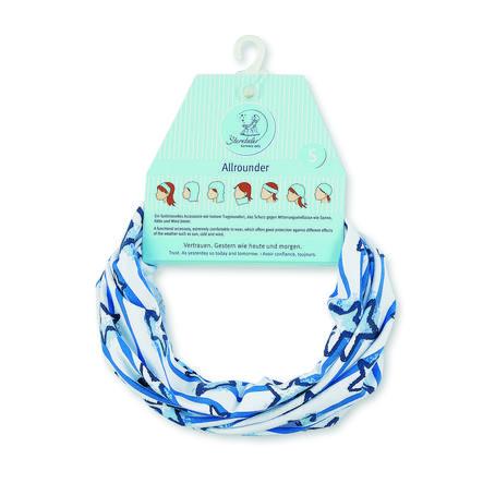 Sterntaler Multifunktionstuch Jersey Streifen kristallblau