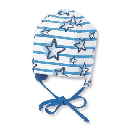 Sterntaler maillot reversible con gorro azul cristal