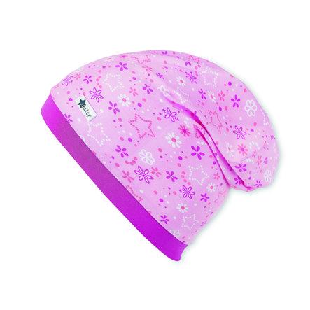 Sterntaler Girls Slouch-Beanie Mosaik mandelblüte