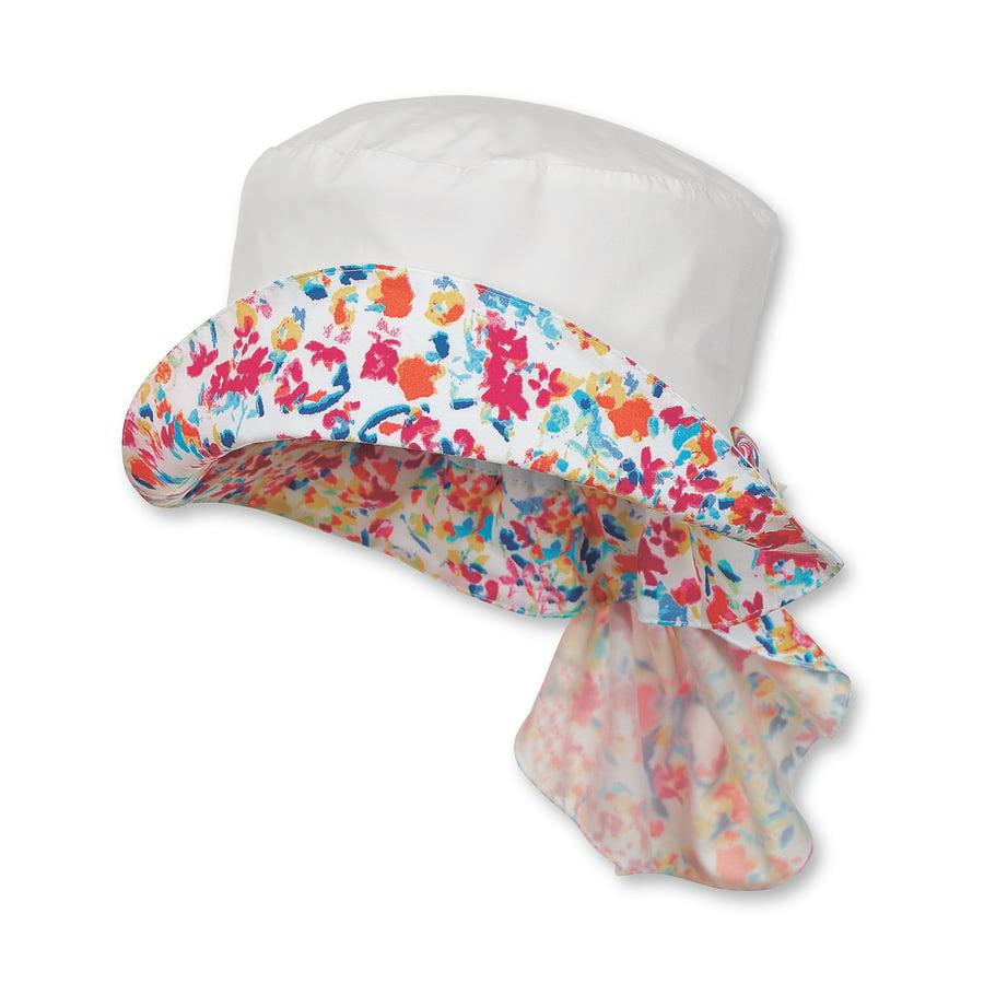 Sterntaler Girl ochrona szyi kapelusza letnia łąka biała