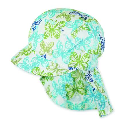 Sterntaler Girl s piek cap nek bescherming vlinder nek bescherming vlinder polair blauw