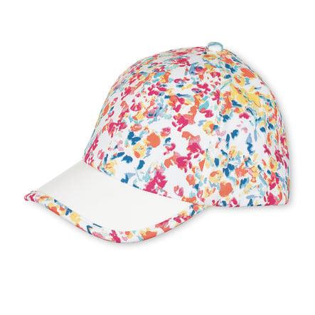 Sterntaler Girl Gorra de béisbol de verano con estampado de frambuesa