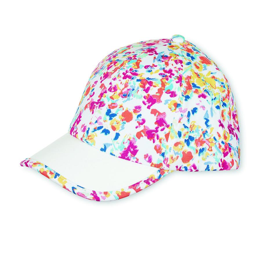 Sterntaler Baseball Cap sommaräng - Print hallon