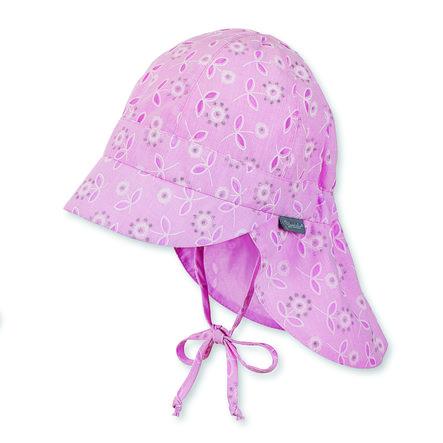 Sterntaler Girls Schildmütze Nackenschutz mandelblüte