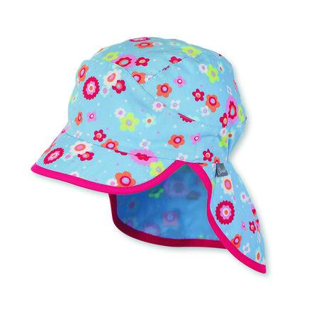Sterntaler Girl s Bonnet pare-soleil Protection du cou ciel