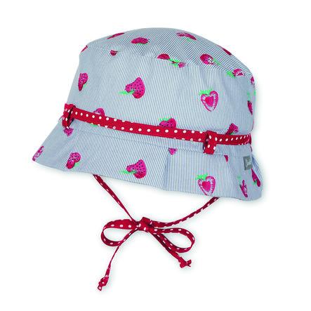 Sterntaler Girl s kapelusz truskawki dymne truskawki szare