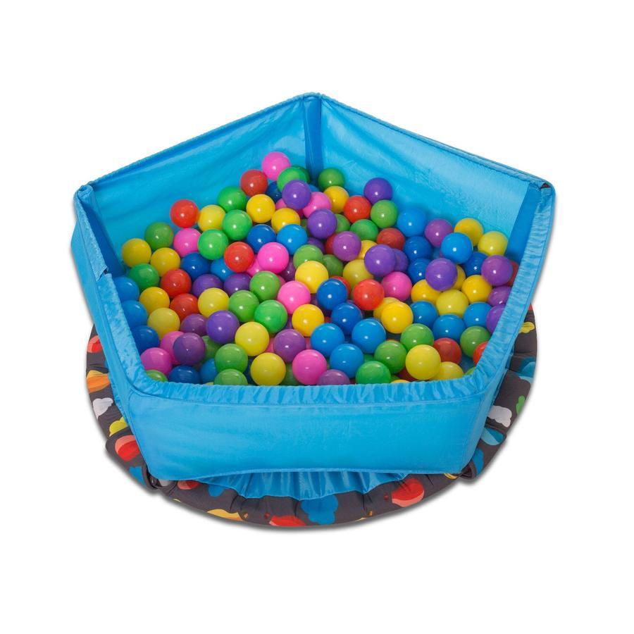 smarTrike® Trampoline 3 en 1 et centre d'activités, bleu 90 cm