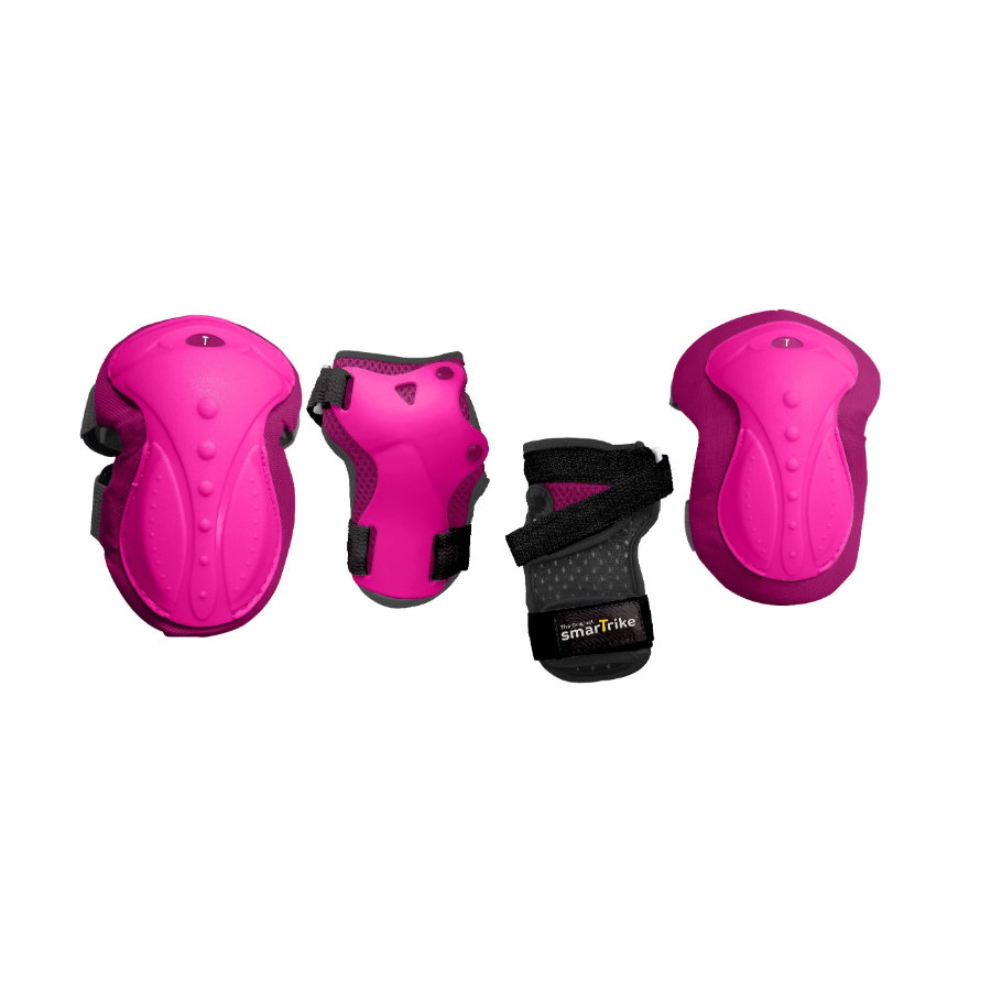 smarTrike® Kit protections enfant safeTogo™ T. XS, rose