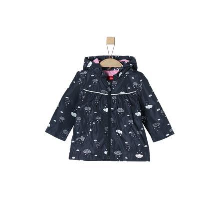 s.Oliver Girl Płaszcz przeciwdeszczowy, ciemnoniebieski.