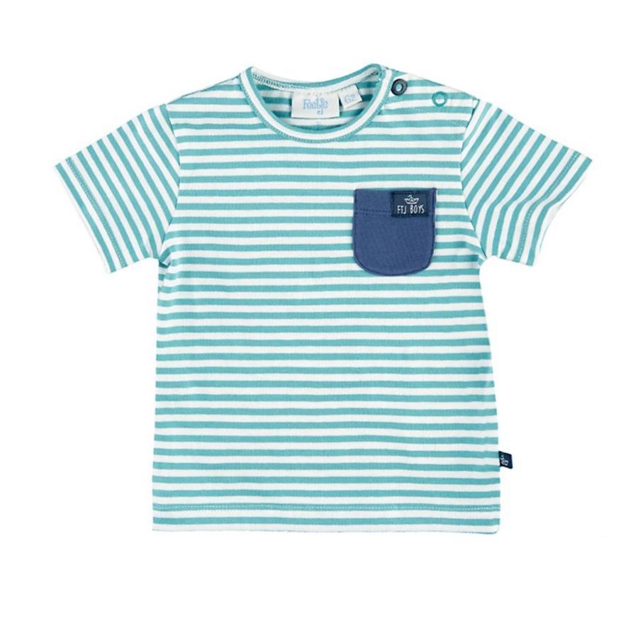 Feetje Girl T-Shirt Adventure strisce s verde