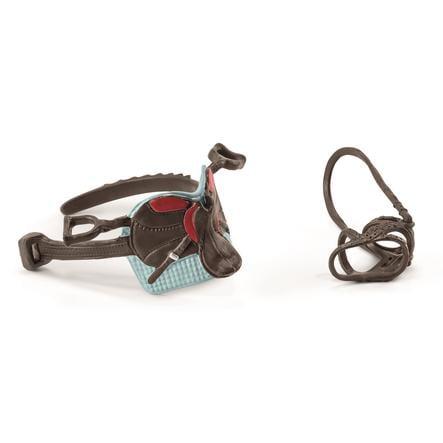 Schleich Figurine selle et bride Hannah et Cayenne Horse Club 42489