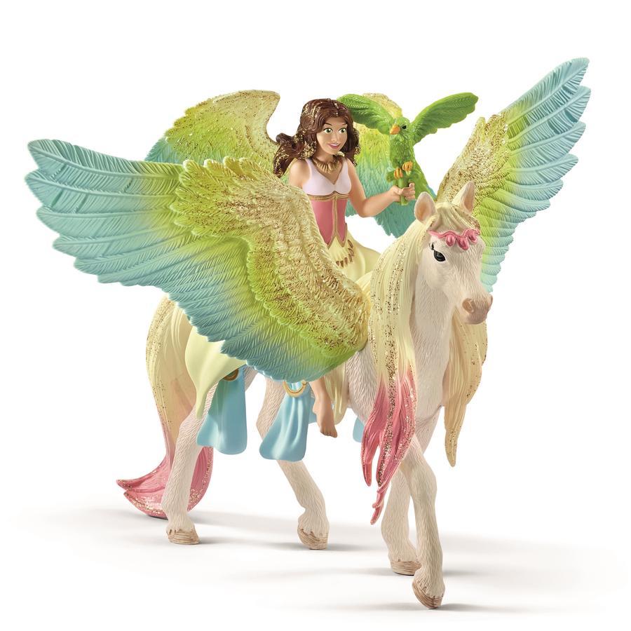 Schleich Sura mit Glitzer-Pegasus 70566