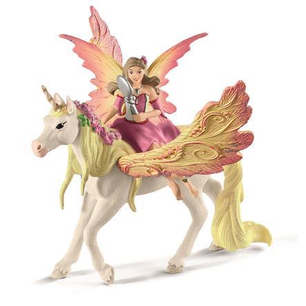 Schleich Feya con unicorno Pegasus