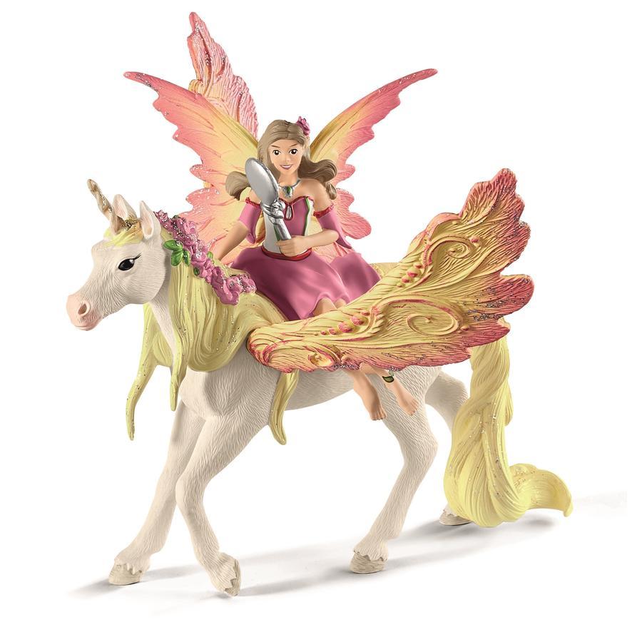 Schleich Figurine Feya et licorne Pégase 70568