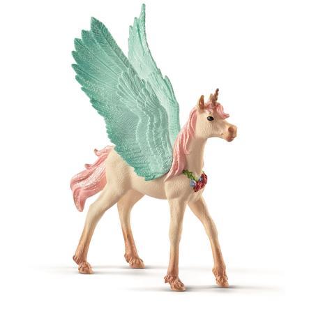 Schleich Figurine licorne Pégase décoré 70575