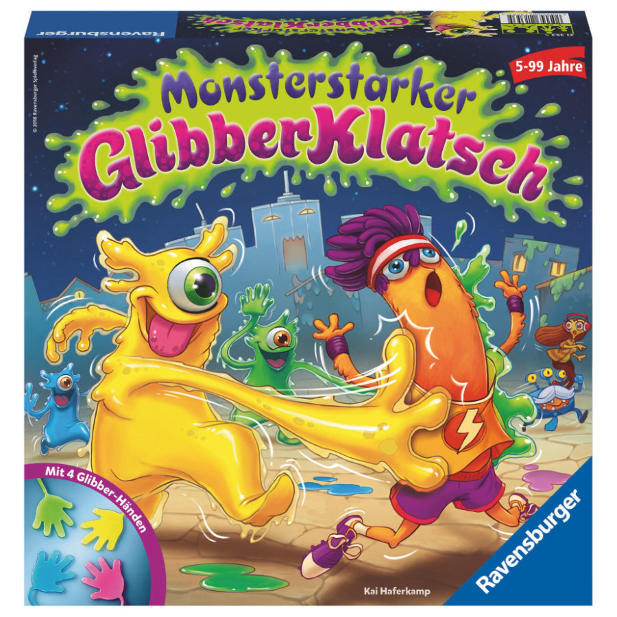 Ravensburger Monsterstarker Glibber-Klatsch