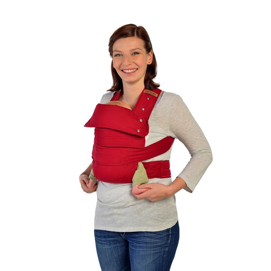 MARSUPI Draagzak XL robijn rood
