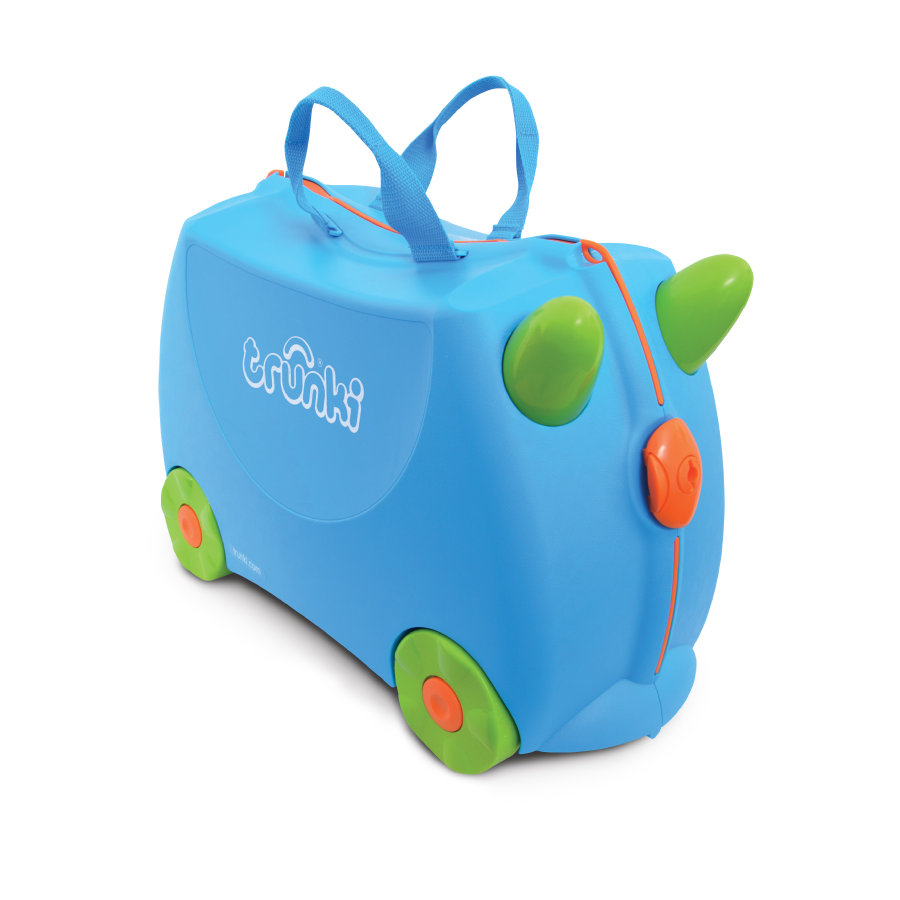 trunki barnekoffert - Terrance, blå