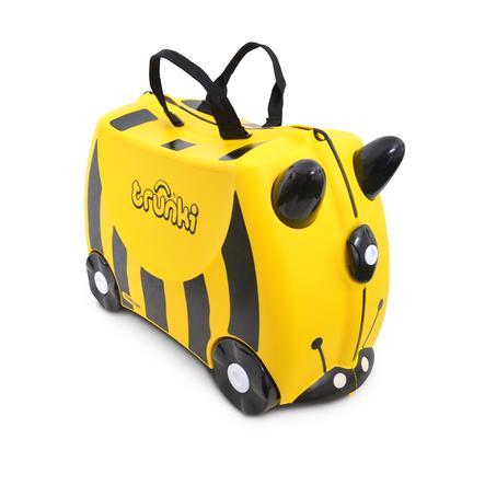 trunki Valise à roulettes enfant abeille Bernard, jaune/noir