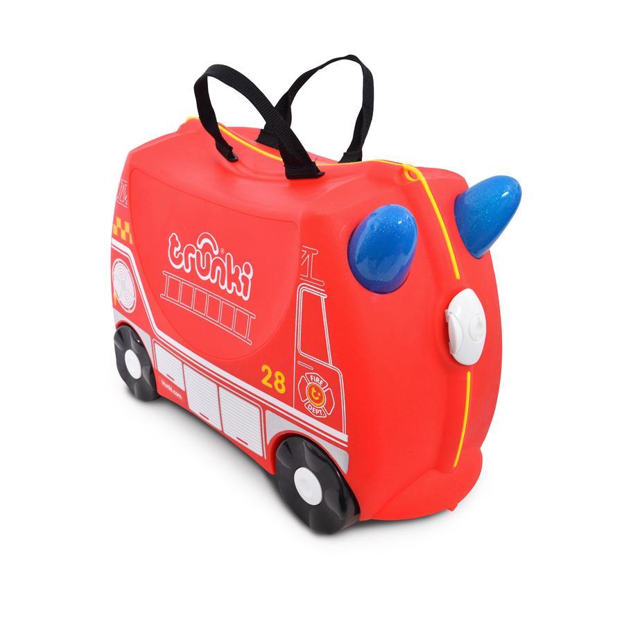 trunki Jeżdżąca walizeczka - Wóz strażacki Frank