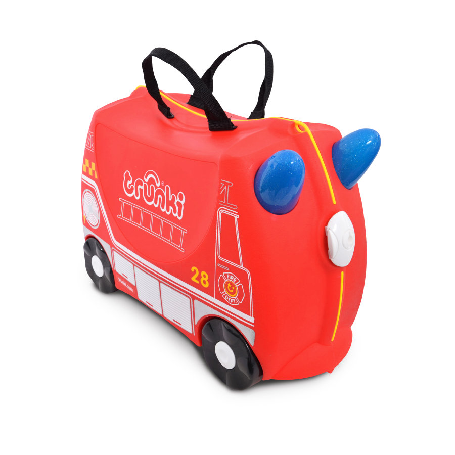 trunki Kinderkoffer - Feuerwehrauto Frank