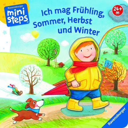 Ravensburger ministeps® Ich mag Frühling, Sommer, Herbst und Winter
