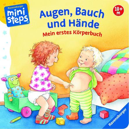Ravensburger ministeps® Mein erstes Körperbuch - Augen, Bauch und Hände