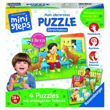 Ravensburger ministeps® Mein allererstes Puzzle: Streichelzoo
