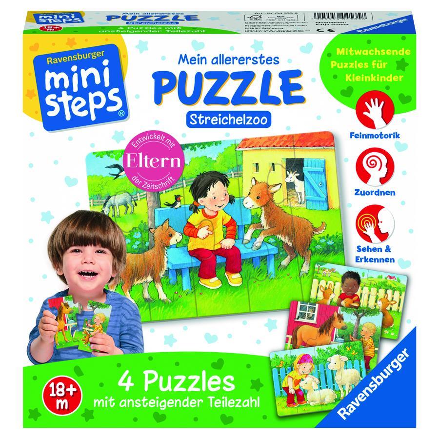 Ravensburger minis teps® Il mio primo puzzle: lo zoo degli animali domestici