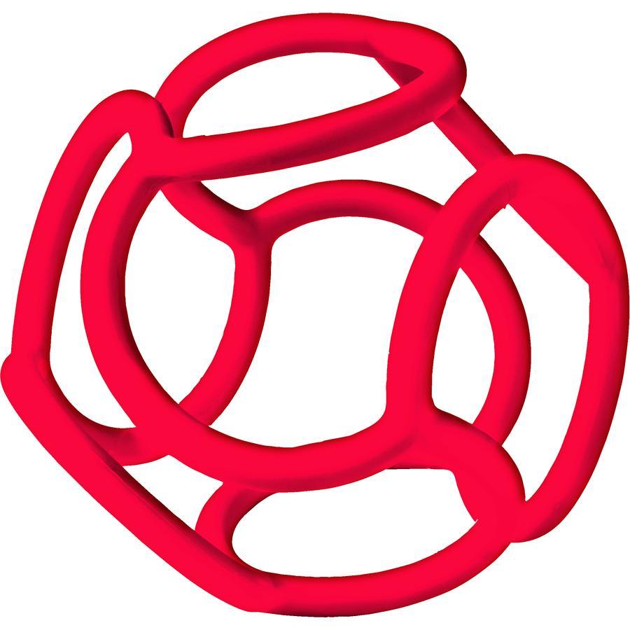 Ravensburger minis teps® baliba - Baby ulubiona piłka, czerwona