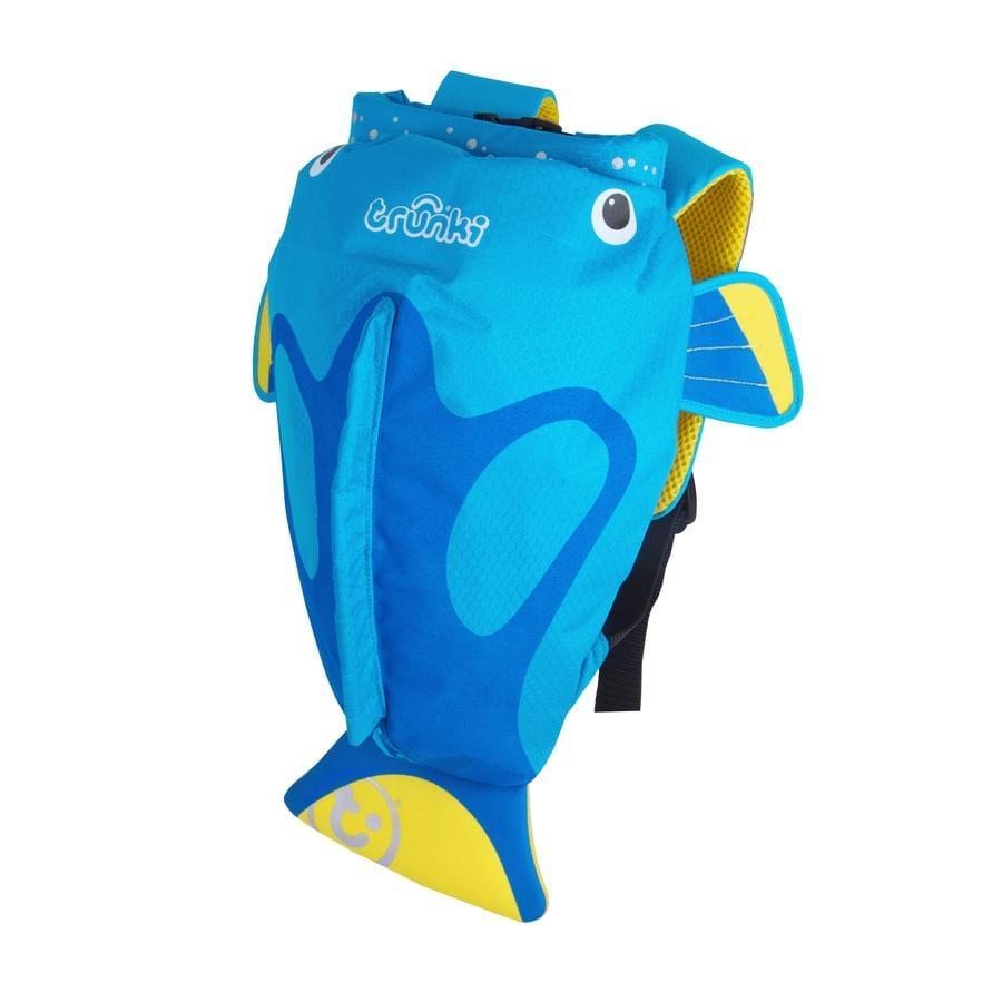 trunki PaddlePak- Wasserfester Kinderrucksack Tang, Blau