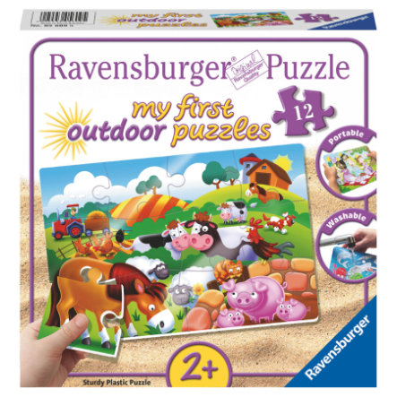 Ravensburger Il mio first outdoor puzzle - Cari animali da fattoria
