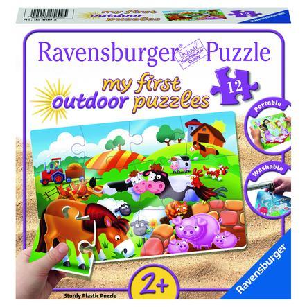 Ravensburger Mon first outdoor puzzle - Chers animaux de la ferme