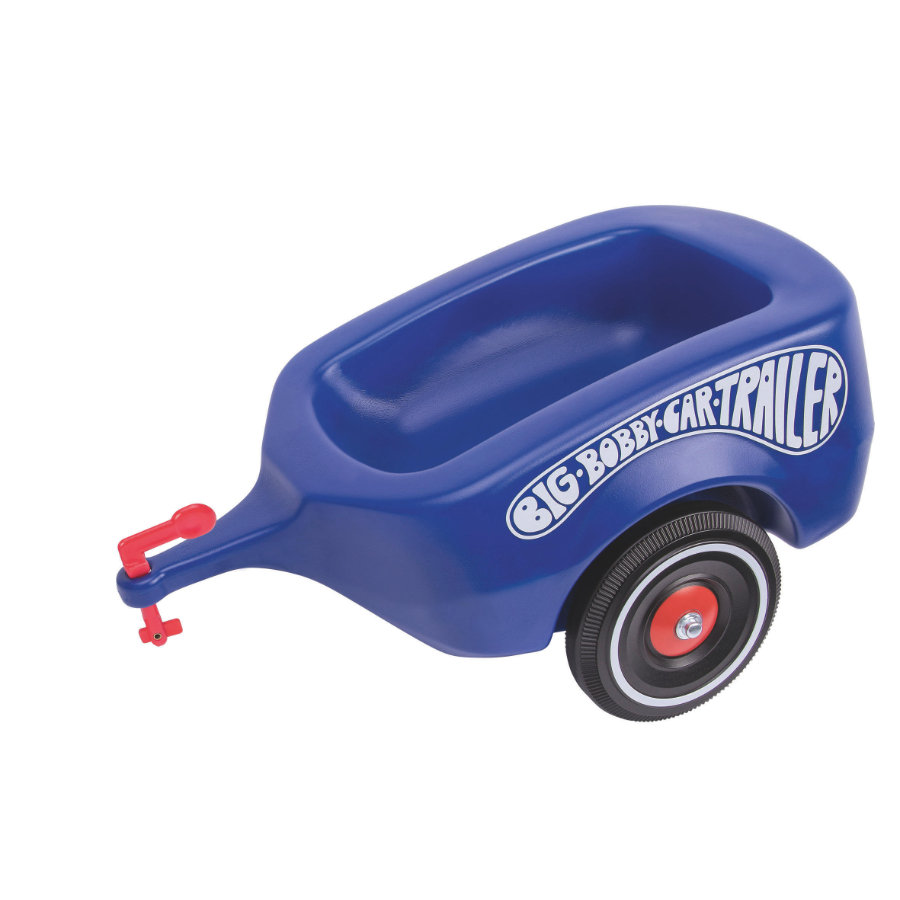 BIG Bobby Car Trailer Royalblauw