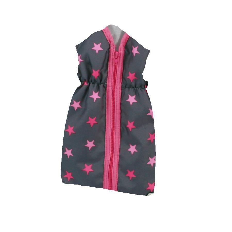 BAYER CHIC 2000 Sovepose til dukke - Stjerner pink