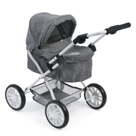 BAYER CHIC 2000 Poppenwagen PICOBELLO Jeans grey