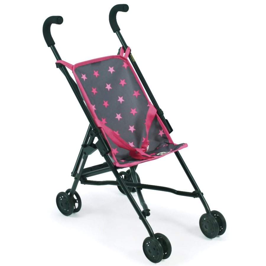 BAYER CHIC 2000 Mini-Buggy ROMA Sternchen pink
