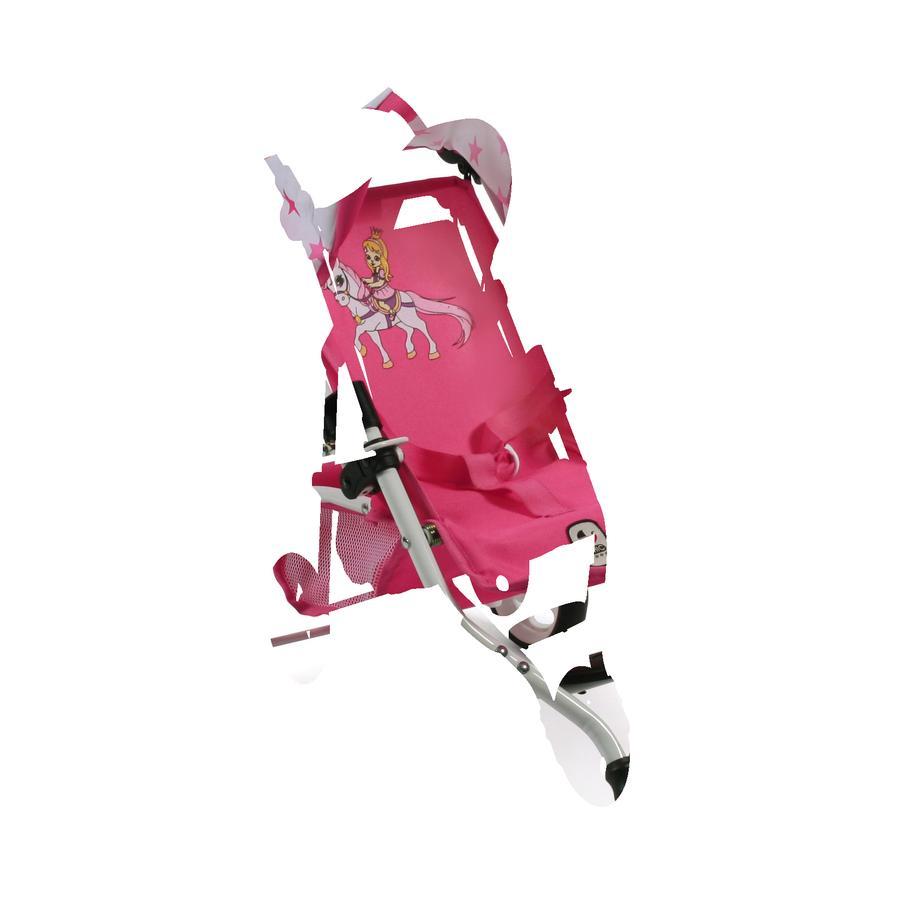 BAYER CHIC 2000  Wózek sportowy dla lalek LOLA Pony and Princess