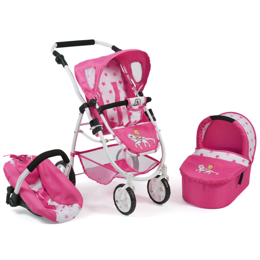 BAYER CHIC 2000 3in1 Kombi EMOTION ALL IN Pony and Princess