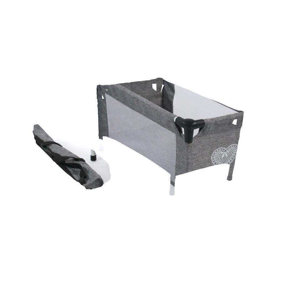 BAYER CHIC 2000 Lit parapluie pour poupée jeans gris   roseoubleu.fr f9742290920d