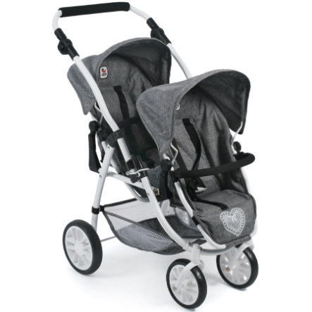 BAYER CHIC 2000 Tandem-Buggy VARIO, Jeans grey