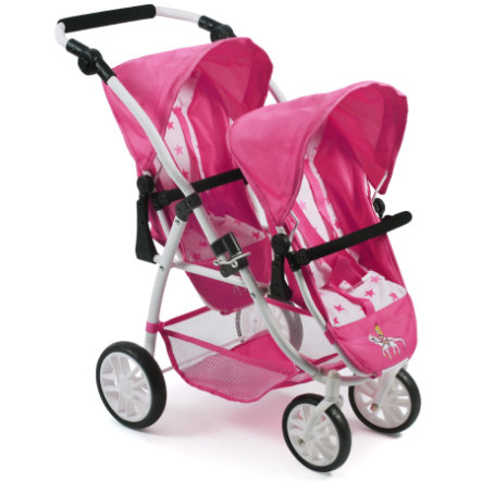 BAYER CHIC 2000 Tandem-Buggy VARIO Pony and Princess