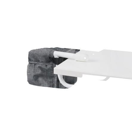 BAYER CHIC 2000 Siège de table poupée jeans gris